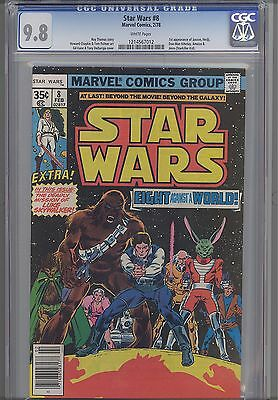 Star Wars #8  CGC 9.8 1978  Marvel  Comic