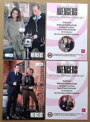Women of the Avengers Radickal Promo Cards RTP1 & RTP2 - Unstoppable 2014
