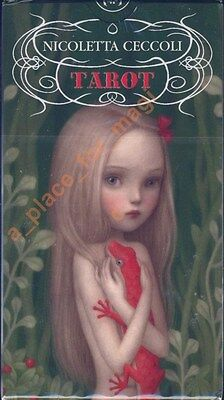 NEW Ceccoli Tarot Deck Cards Lo Scarabeo Nicoletta Ceccoli