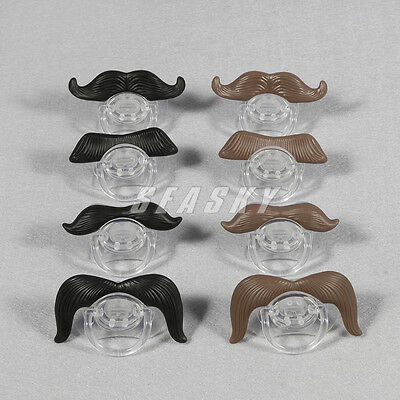 1pc Funny Baby Child Children Infant Dummy Pacifier Orthodontic Mustache Nipple