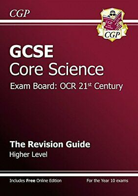 GCSE Core Science OCR 21st Century Revision Guide - High..., CGP Books Paperback