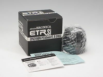 Zenza Bronica ETRSi 2.8/50mm PE Zenzanon  Automatic Diaphragm *NEW OLD STOCK*