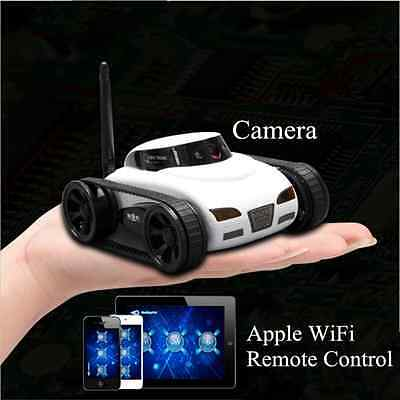 HOT 777-270 WiFi Remote Control i-spy Tank Car Video Camera By Iphone Android Yu