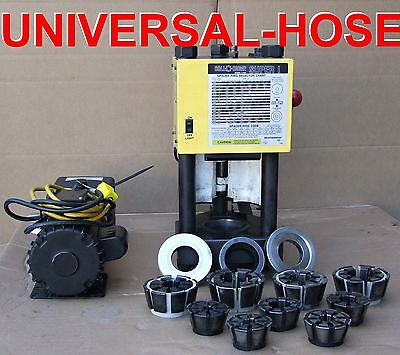 Weatherhead T420 Hydraulic Hose Crimper Machine W  Pump