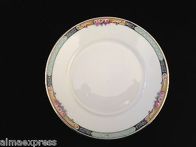"Gimbel Brothers KPM Bavaria Germany China 27044-4576 Roses 6"" DESSERT PLATE"