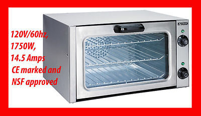 Quarter 1/4 Size Commercial Convection Oven NEW and sealed Adcraft COQ-1750W