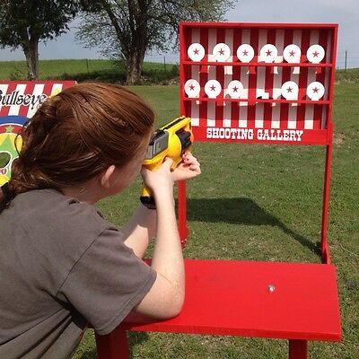 Shooting Gallery Carnival Game for VBS or School Party