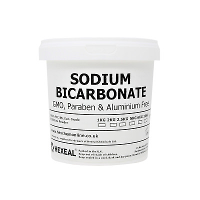 SODIUM BICARBONATE of Soda | 1KG BUCKET | 100% BP/Food Grade | Bath, Baking