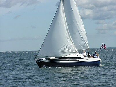 2004 Macgregor 26M with trailer. New mailsail. Serviced motor and lower unit
