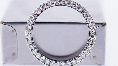 1.20 Cts Ladies Diamond Bezel For Rolex Datejust 26Mm Watch Stainless Steel