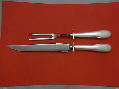 Round by Porter Blanchard Sterling Silver Roast Carving Set 2pc