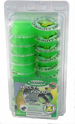 Dragon Jelly Food Fruchtnektar - Sorte: GREEN MELON - Menge: 50 Stück