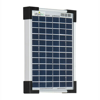Offgridtec® 5W Poly Solarpanel 12V Solarmodul Solarzelle