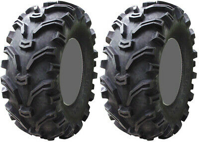 Pair 2 Kenda Bearclaw 22x8-10 ATV Tire Set 22x8x10 K299 22-8-10