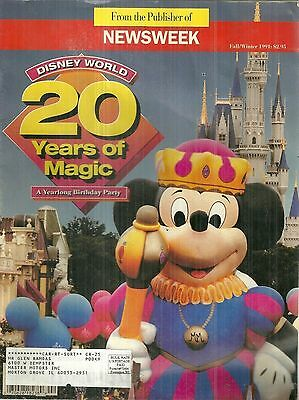 1991 Newsweek Special 20 Years of Disney World