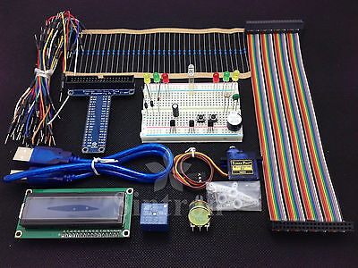 New 40-Pin GPIO Breakout DIY Kit Project for Raspberry Pi 2 Model B & B+,LCD1602