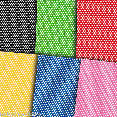 5ft Polka Dot Dots Spot Spotty Spots Style Party Wrapping Paper Gift Wrap Roll