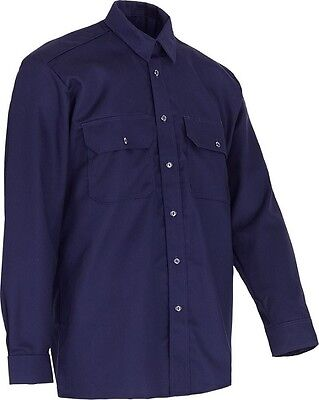 Mens Wenaas Flame/Fire Retardant Industry Shirt Work Workwear 99400