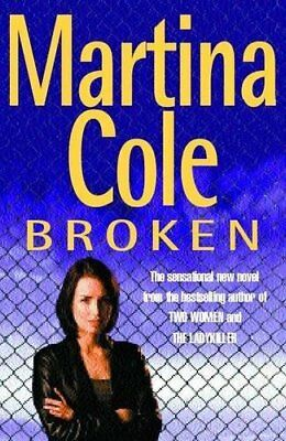 Broken, Cole, Martina Paperback Book The Cheap Fast Free Post