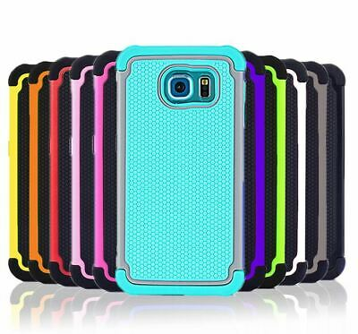 Shockproof Heavy Duty Shock Proof Hard Cover Case for Samsung Galaxy S6 & Edge