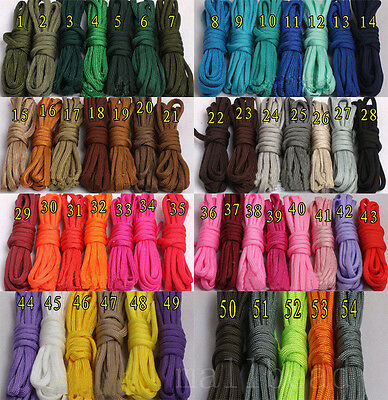 550 Paracord Parachute Cord Mil Spec Type III 7 Strand Core 100 FT for Survival