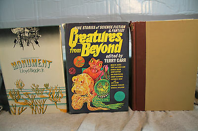 lot vtg old Sci-Fi THE ROBOT AND THE MAN CREATURES FROM BEYOND MONUMENT
