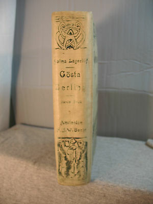 GOSTA BERLING saga by Selma Lagerlof rare old antique dutch language edition