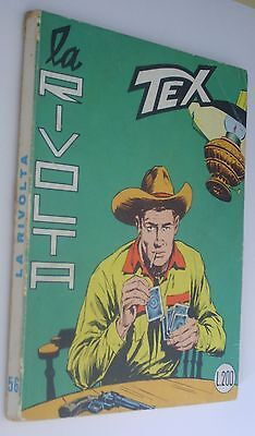 Tex n 56  L. 200 - originale - MG - continua