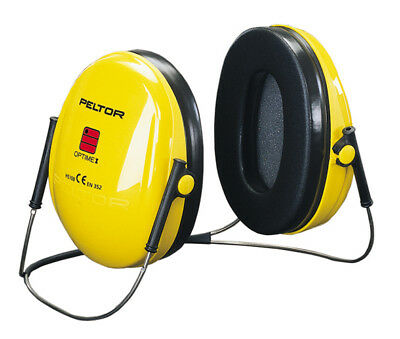 3M Peltor Optime One Ear Defenders Neckband SNR27db Yellow Lightweight H510A