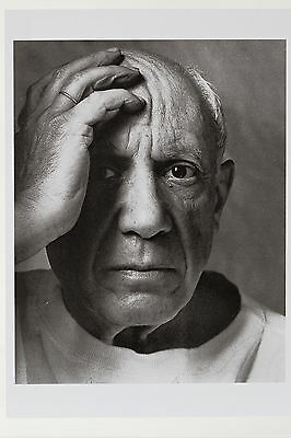PABLO PICASSO, 1954 by Arnold Newman,  Kunst-Postkarte