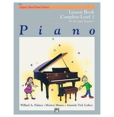 Alfred Alfred's Basic Piano Course Lesson Book Complete 1 (1A/1B) New