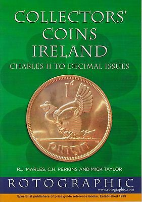Rotographic Collectors Coins Ireland Charles II To Decimal, Perkins etc, 2015