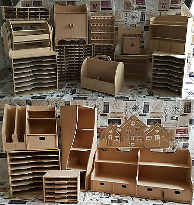 Stamps Away MDF Wooden Elements Storage Kits REDUCED TO CLEAR!