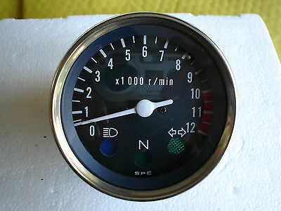 Hartford HD 125 Tachometer Rev counter.. Suzuki GN GS 125 . NEW. 011182000