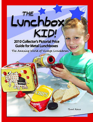 """#1 Lunchbox Resource Ever!  The Lunchbox Kid """"2010 Pictorial Price Guide"""" Book"""