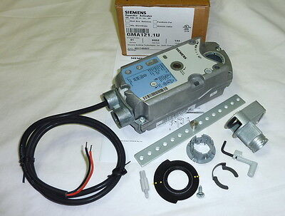 Siemens OpenAir Damper Actuator GMA121.1U Spring Return 62 lb-in NEW in Box!!