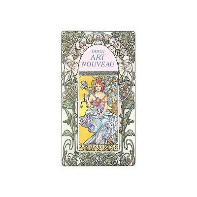 NEW Tarot Art Nouveau Deck Cards Lo Scarabeo
