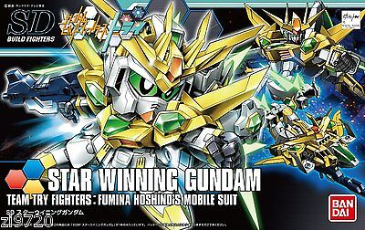 Bandai STAR WINNING Gundam Build Fighters Try Scale SDBF Model Kit New