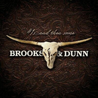 BROOKS & DUNN - #1s And Then Some : Greatest Hits 2 CD *NEW* 2009 Free Shipping
