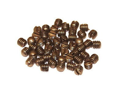 "50 Meccano Part 69a Grub Screws 3/16"" Long."