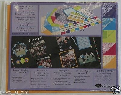 Creative Memories*Gizmos n Gadgets Album Kit* Great for Cardmaking and Scrapbook