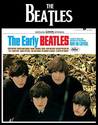 """The Early Beatles  Photo Print 14 x 11"""""""