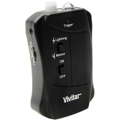 Vivitar Dual Action Lightning and Motion Activated Shutter Trigger for Canon
