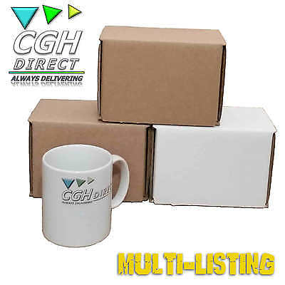 Super Strong Cardboard Mug & Cup Packaging Mailer Mailing Boxes 60 100 120 200