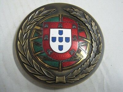 Celebration of Portugal joined the CEE January 1, 1986 enamelled bronze medal