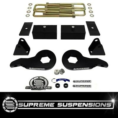 "00-13 Chevy Avalanche Suburban GMC Yukon 2500 2WD 4WD 3"" FT + 3"" RR Lift Kit"