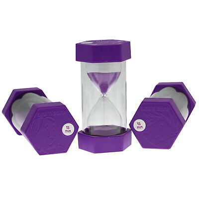 Tink n Stink Large Sand Egg Hourglass Timer 15 Minute SEN ADHD ASD