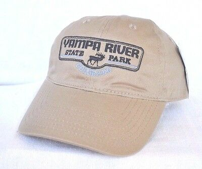 347cbff5c41d4  YAMPA RIVER STATE PARK COLORADO  Ball cap hat  OURAY SPORTSWEAR   embroidered