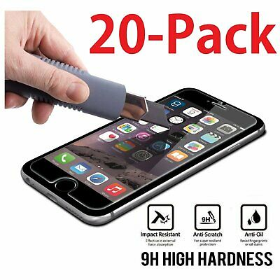 "20x Wholesale Lot Tempered Glass Screen Protector for Apple 4.7"" iPhone 6"