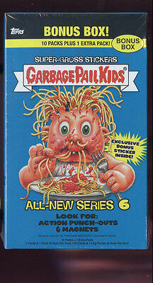 2007 Topps Garbage Pail Kids All-New Series 6 ANS Card Set GPK Wax Pack Box